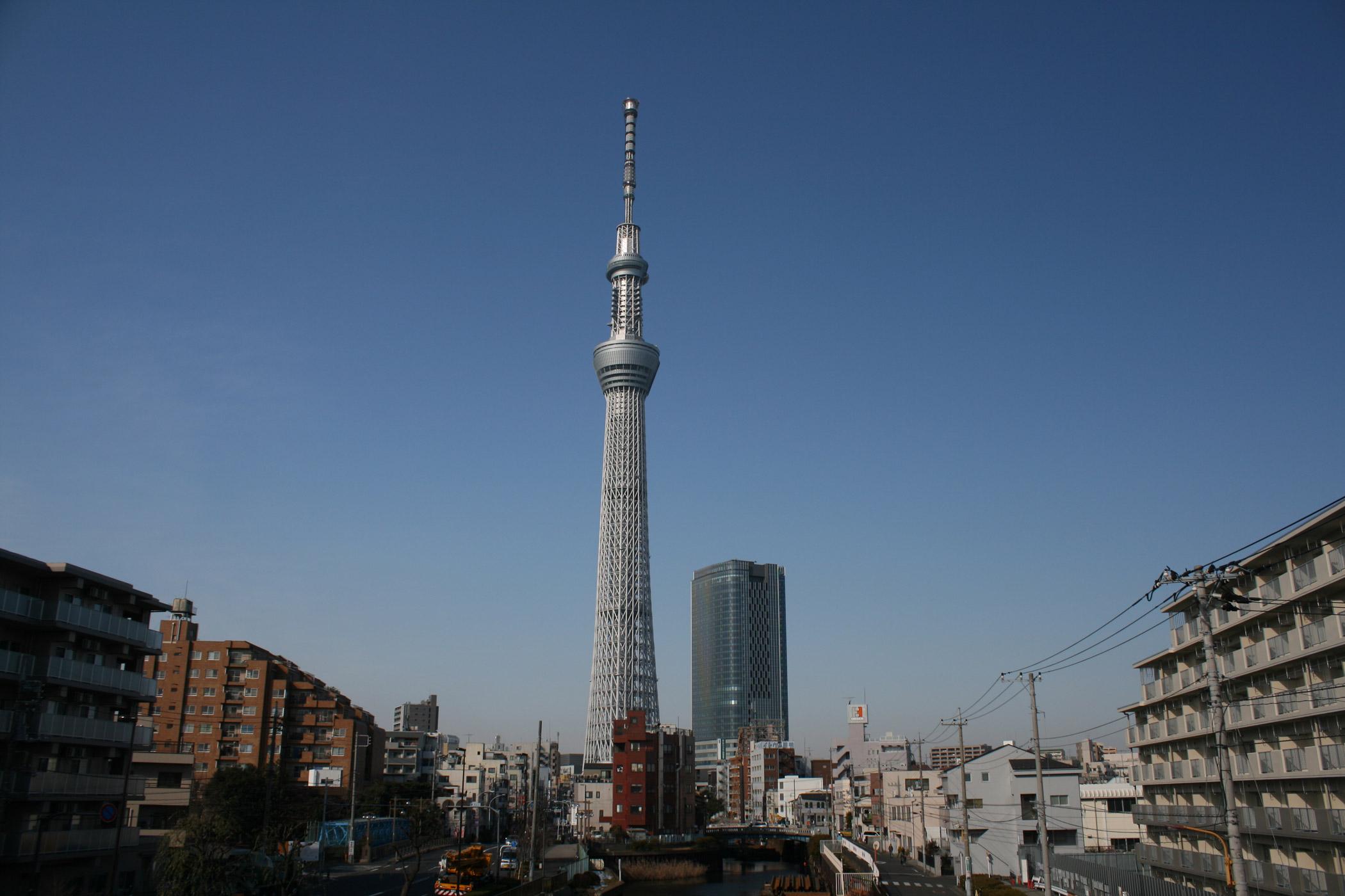 東京スカイツリーの試験電波送信で地デジが映らない