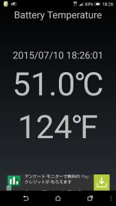 htv31バッテリー温度