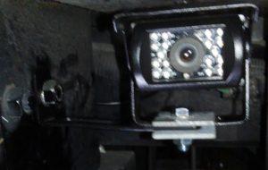 バックカメラ取付位置