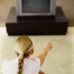 テレビの画面が真っ暗