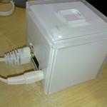 au wifi home spot cubeが故障で繋がらないので交換