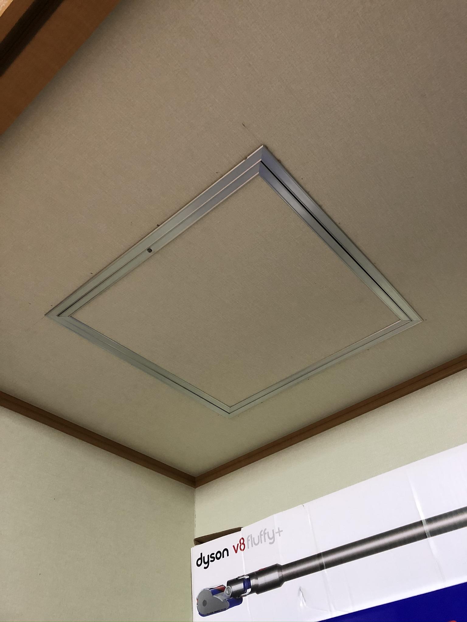 天井裏の点検口