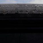 セレナのハイマウントストップランプ割れで水が浸入
